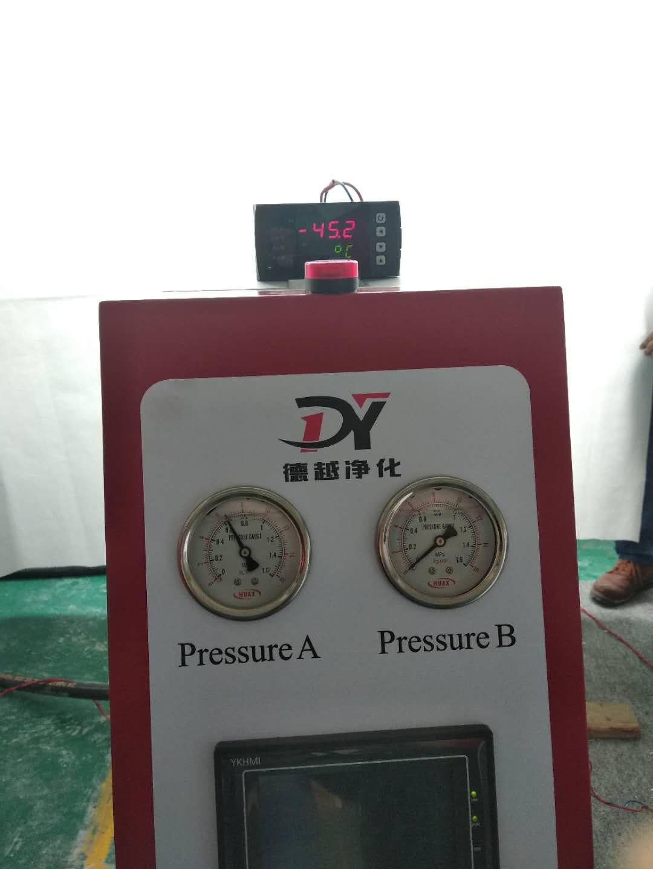 吸附式干燥机压力露点